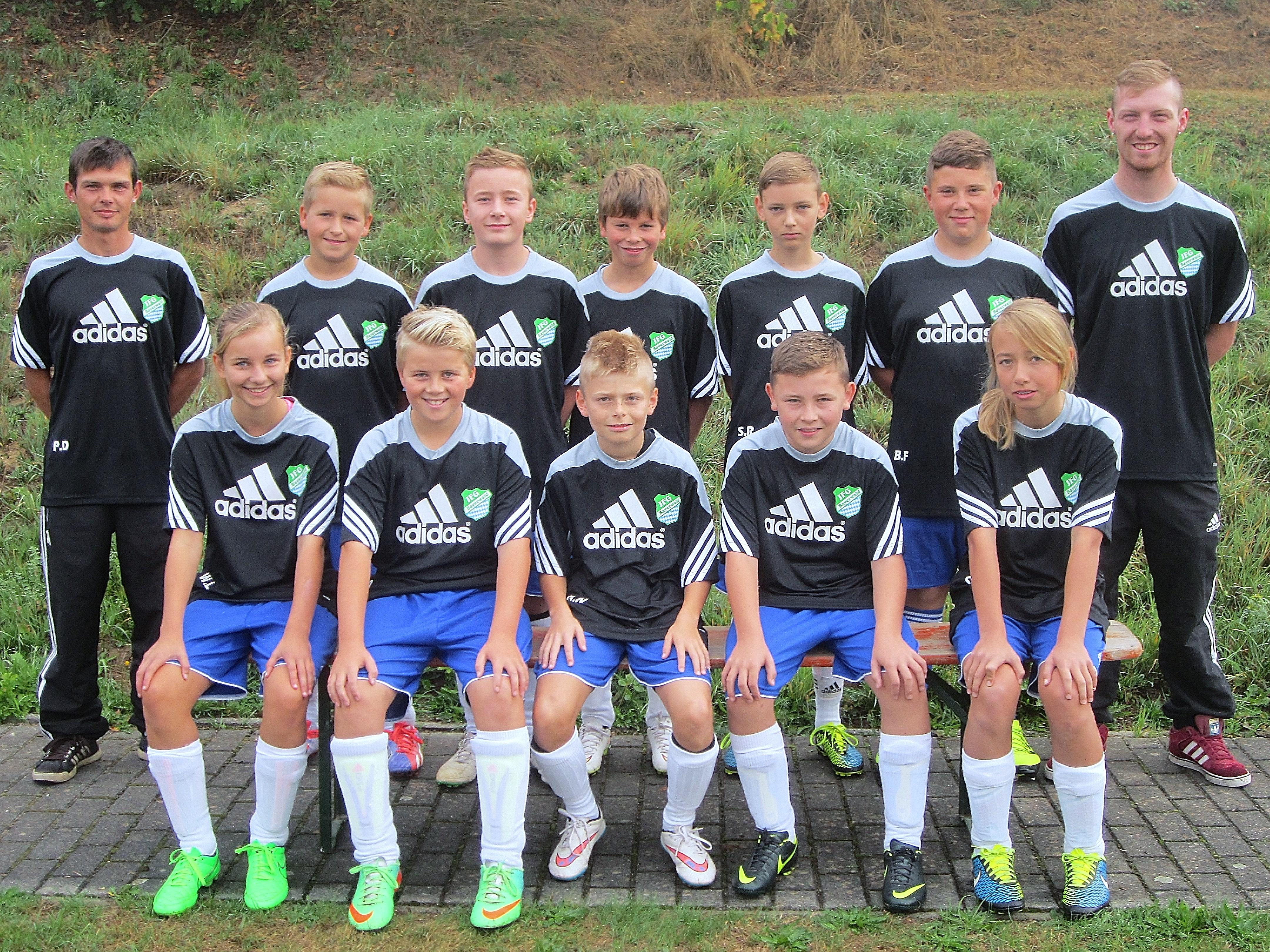D1 Jugend Mannschaft des SV-Bischofsmais