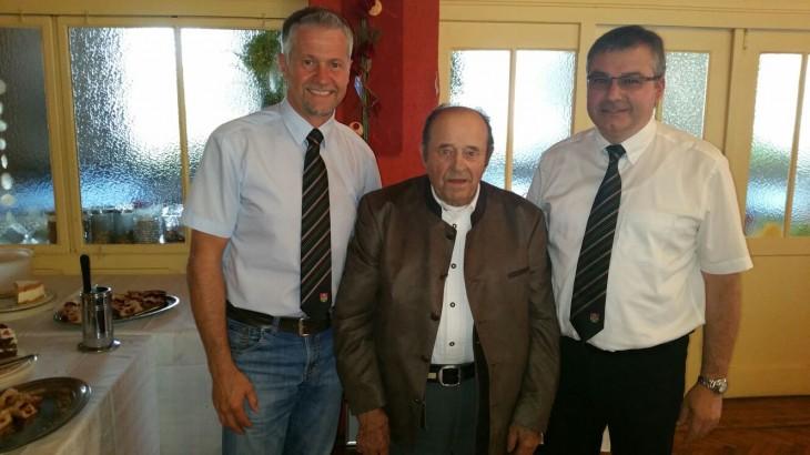 Ehrenvorstand Rudi Laschinger sen. feiert seinen 90. Geburtstag